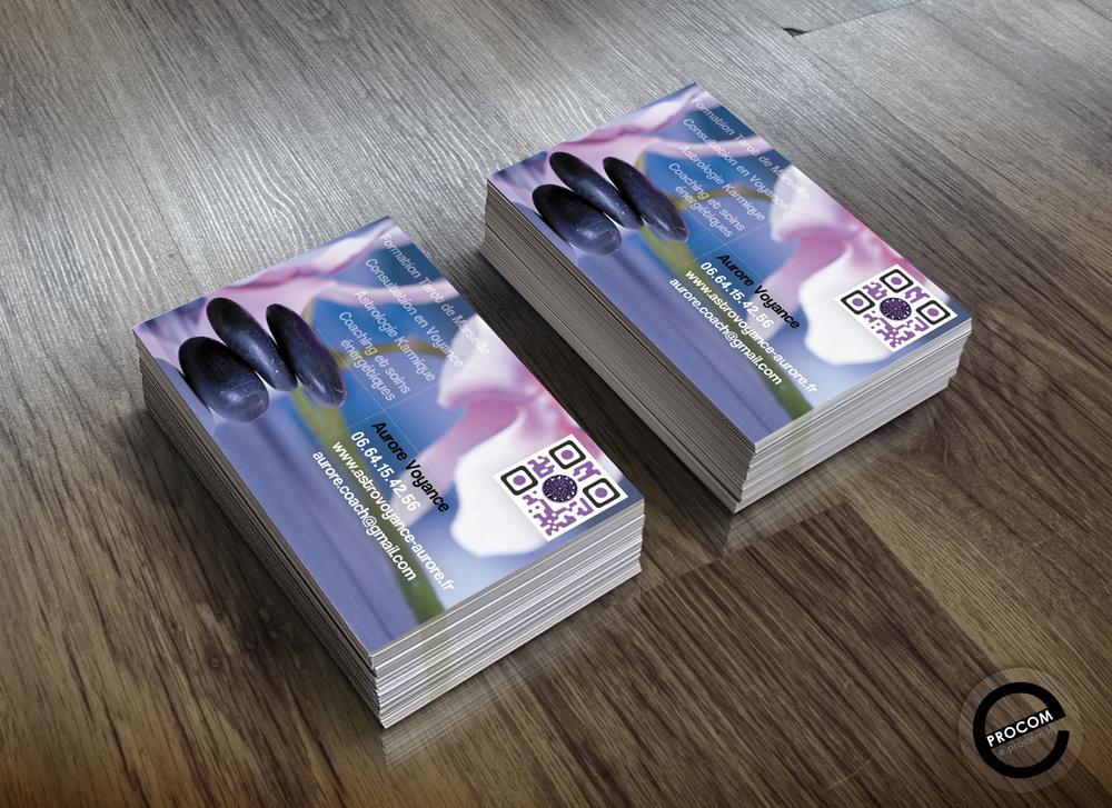 Carte de visite aurore voyance - Carte aurore en ligne ...