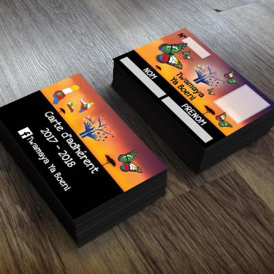 Cartes membre twamaya ya boeni
