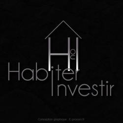 Logotype habiter ou investir