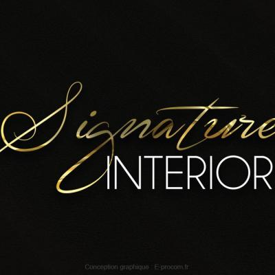 Logotype signature interiors