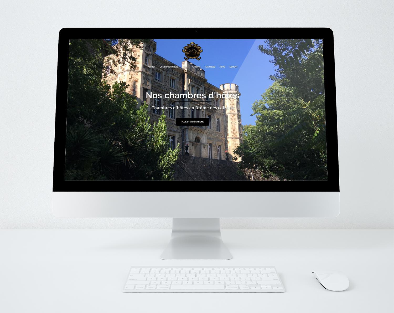 Site web chateaudelarochetailee