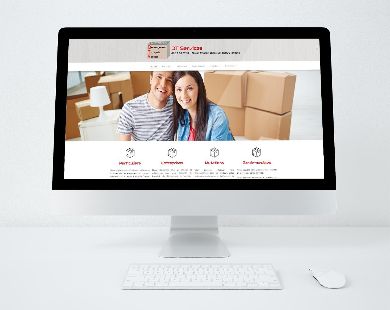 Site web dt services