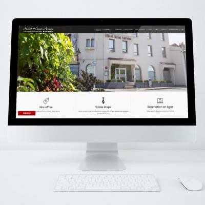 Site web hotel saint antoine
