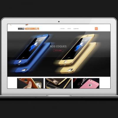 Site web mobile accessoires