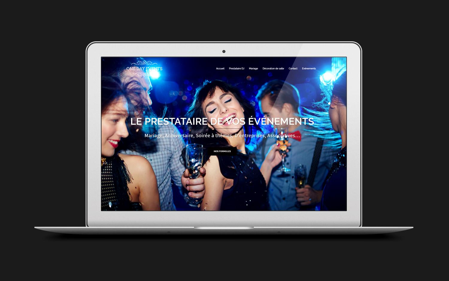 Site web one day events