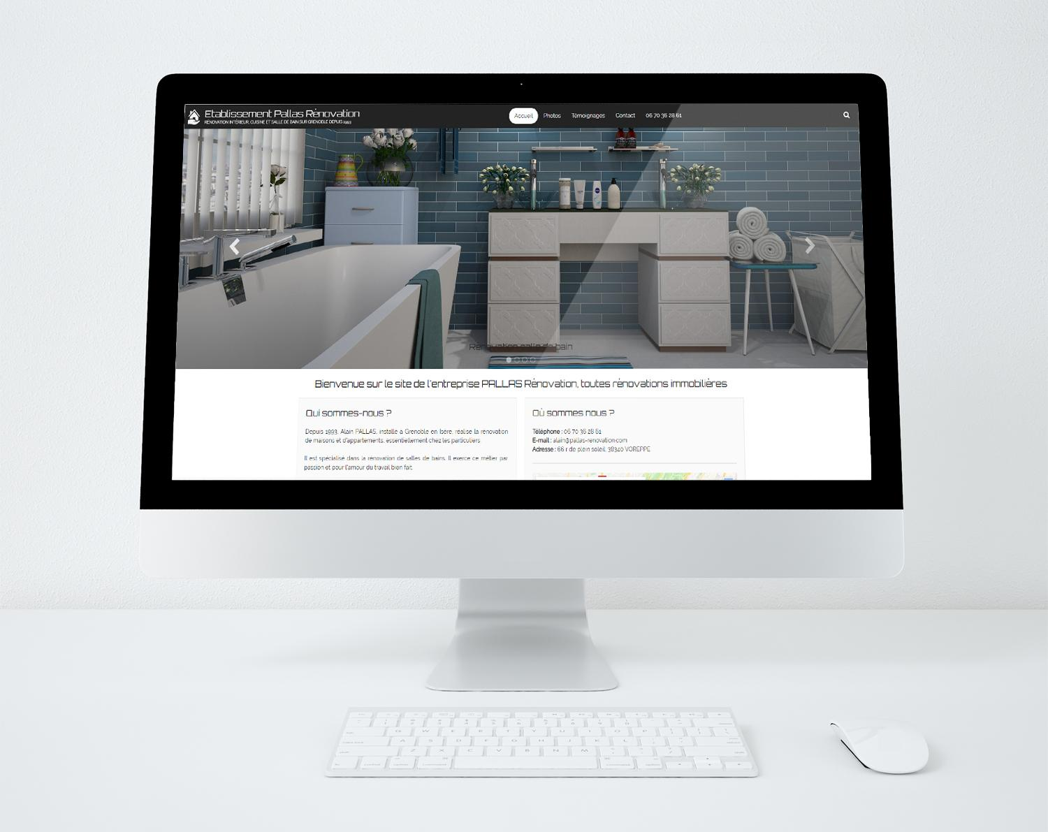 Site web pallas renovation