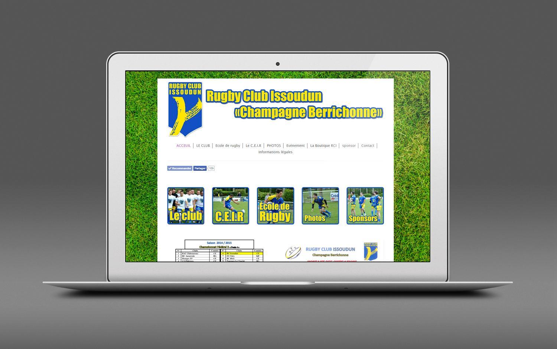 Siteweb vitrine rugbyclubissoudun 001