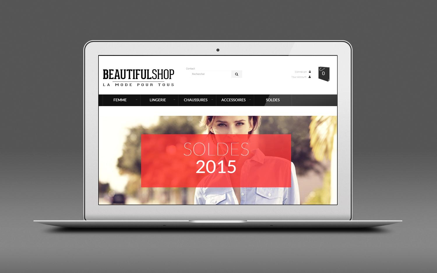 Beautifol shop prototype 001
