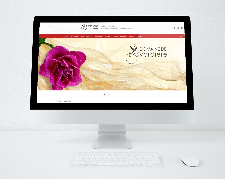 Domaine de l yvardiere site web