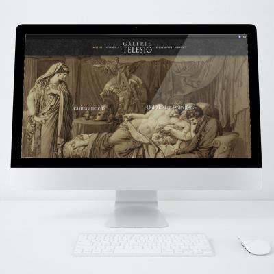Galerie telesio site web