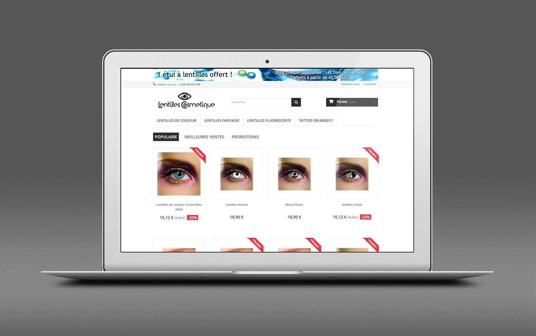 Lentilles cosmetique visuel 002