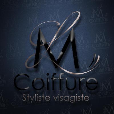 Lm coiffure logotype