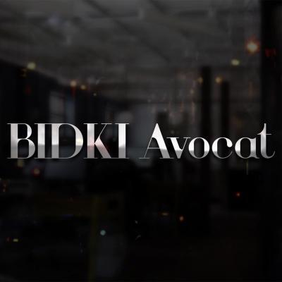 Logotype bidki avocat montpellier 34