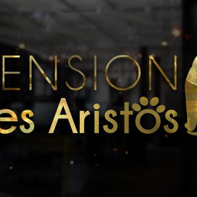 Logotype pension les aristos