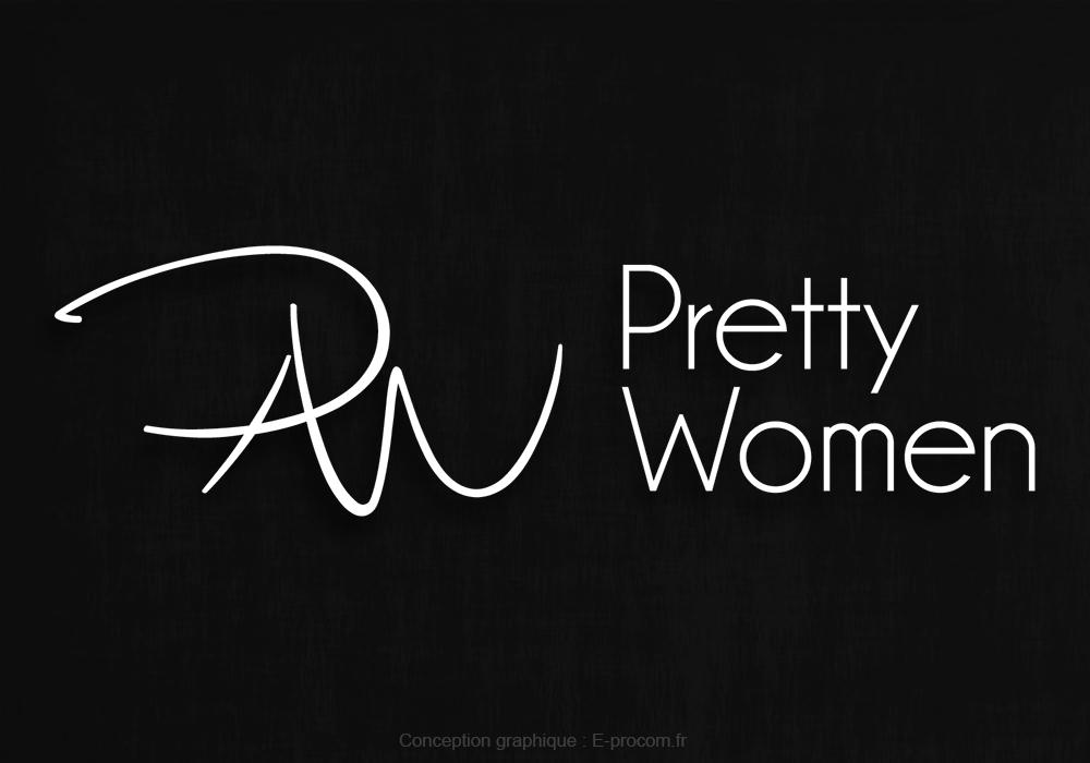 Logotype pretty women