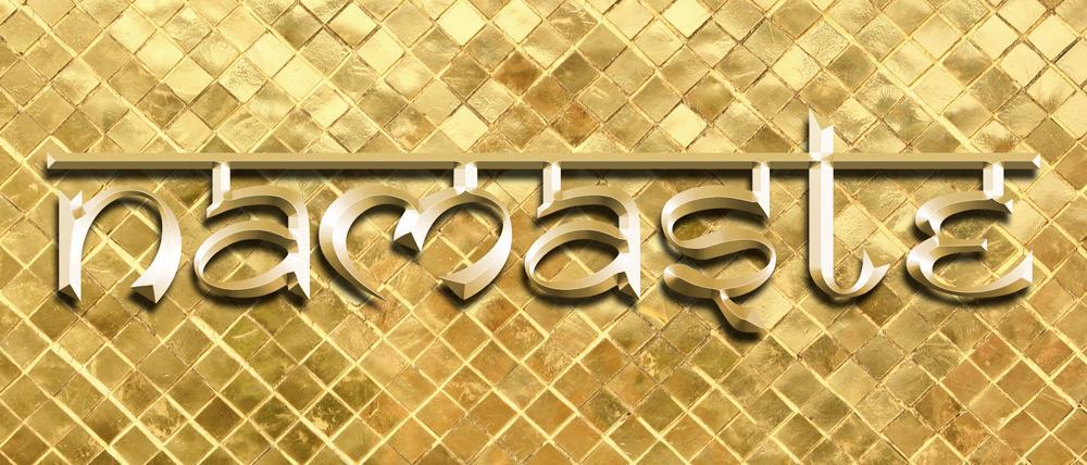 Namaste logotype