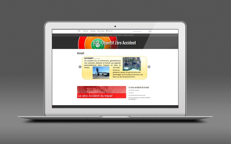 Oza prototype siteweb