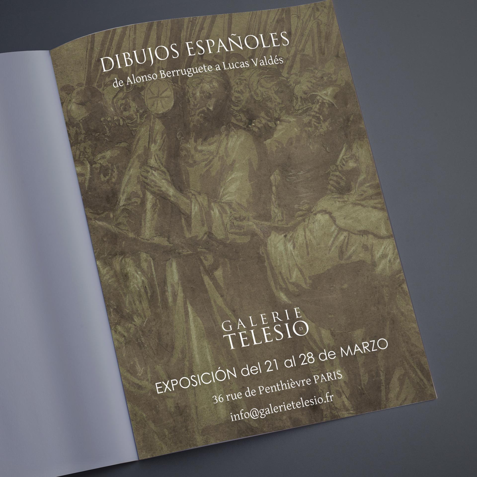 Publicite magazine tendencias galerie telesio