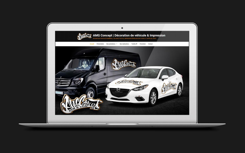Site web amg concept rouen