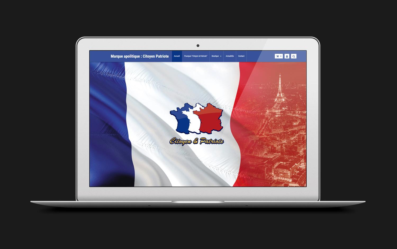 Site web citoyen patriote