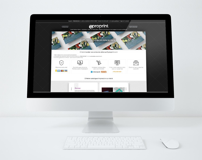 Site web eproprint