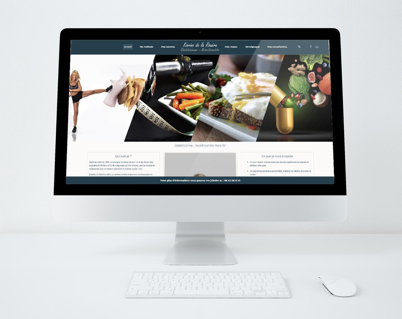 Site web karine de la rouere 2020