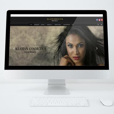 Site web klaman cosmetics
