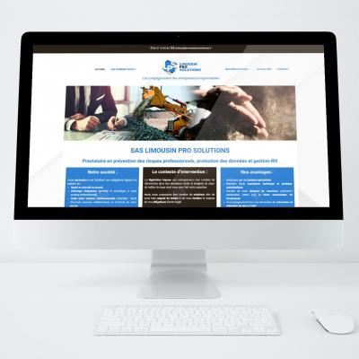 Site web limousin pro solutions