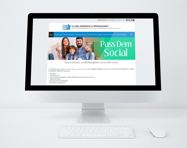 Site web passdem