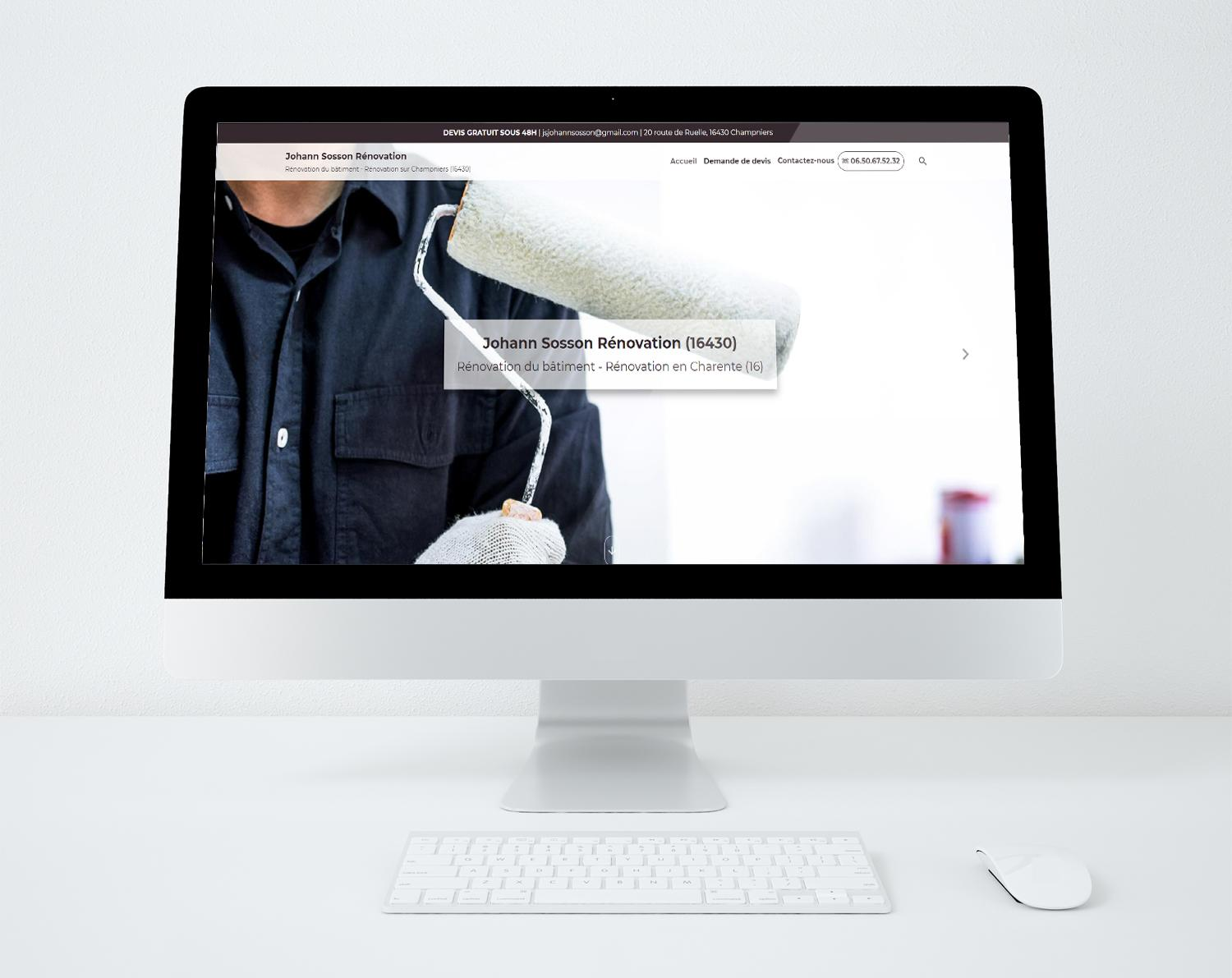 Site web sosson renovation