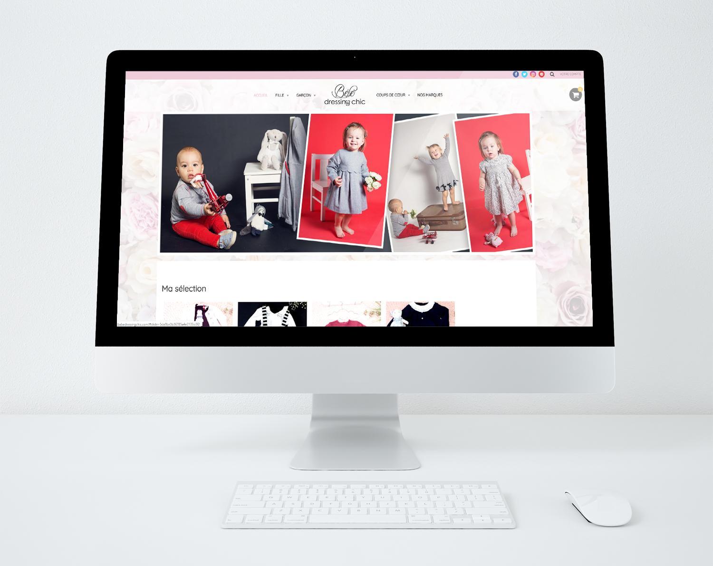 Sites web bebe dressing chic