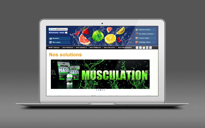 Siteweb ecommerce topnutrition 01