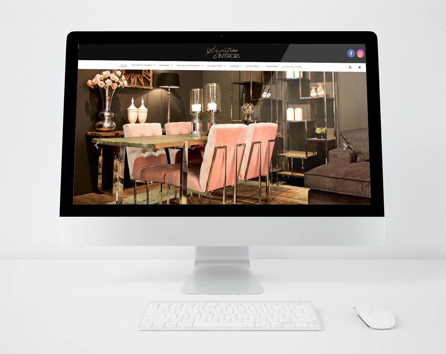 Siteweb signature interiors