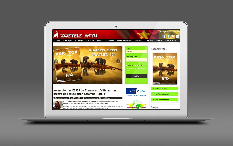 Siteweb vitrine zoeteleactu 02