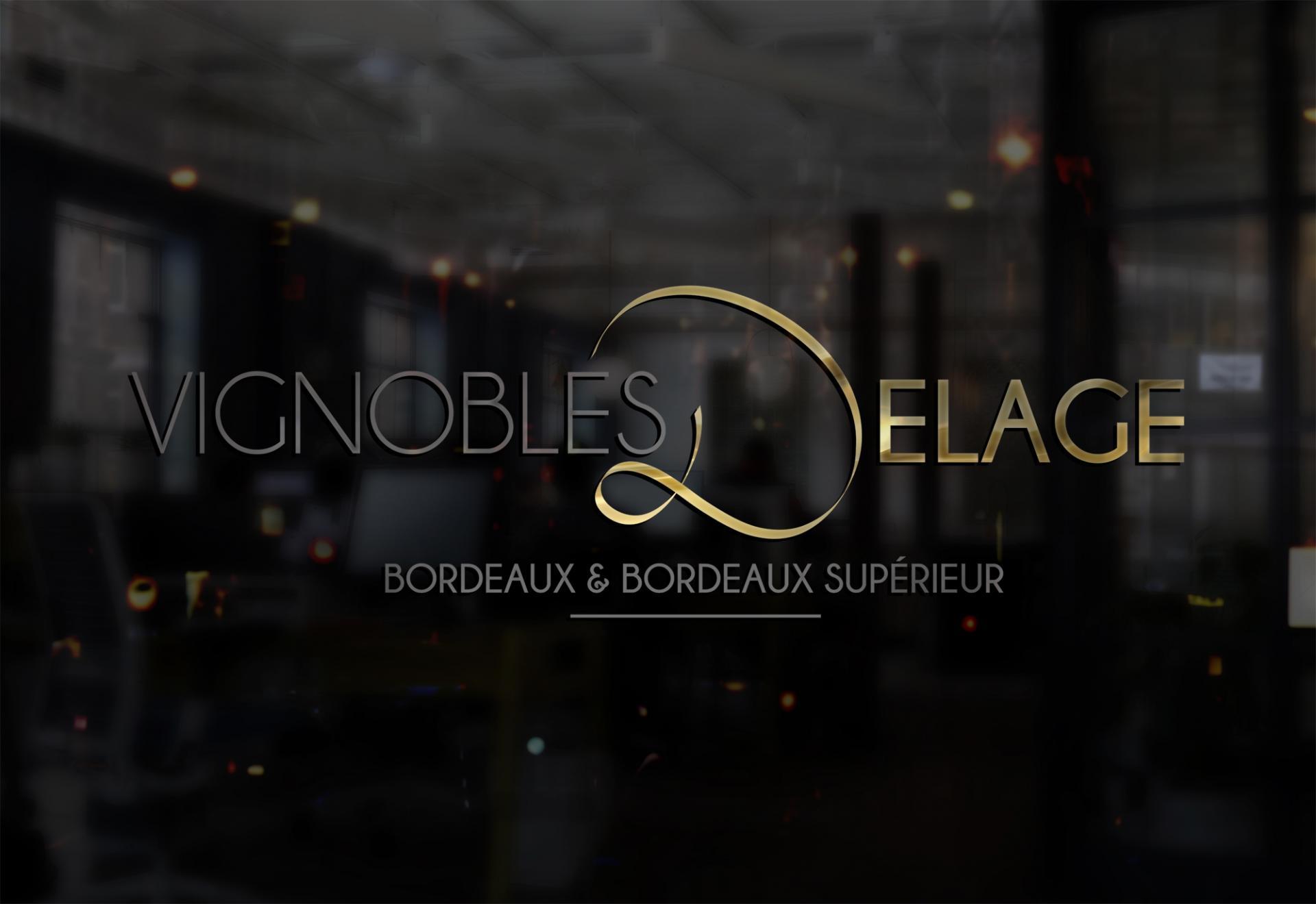 Vignoble delage logotype